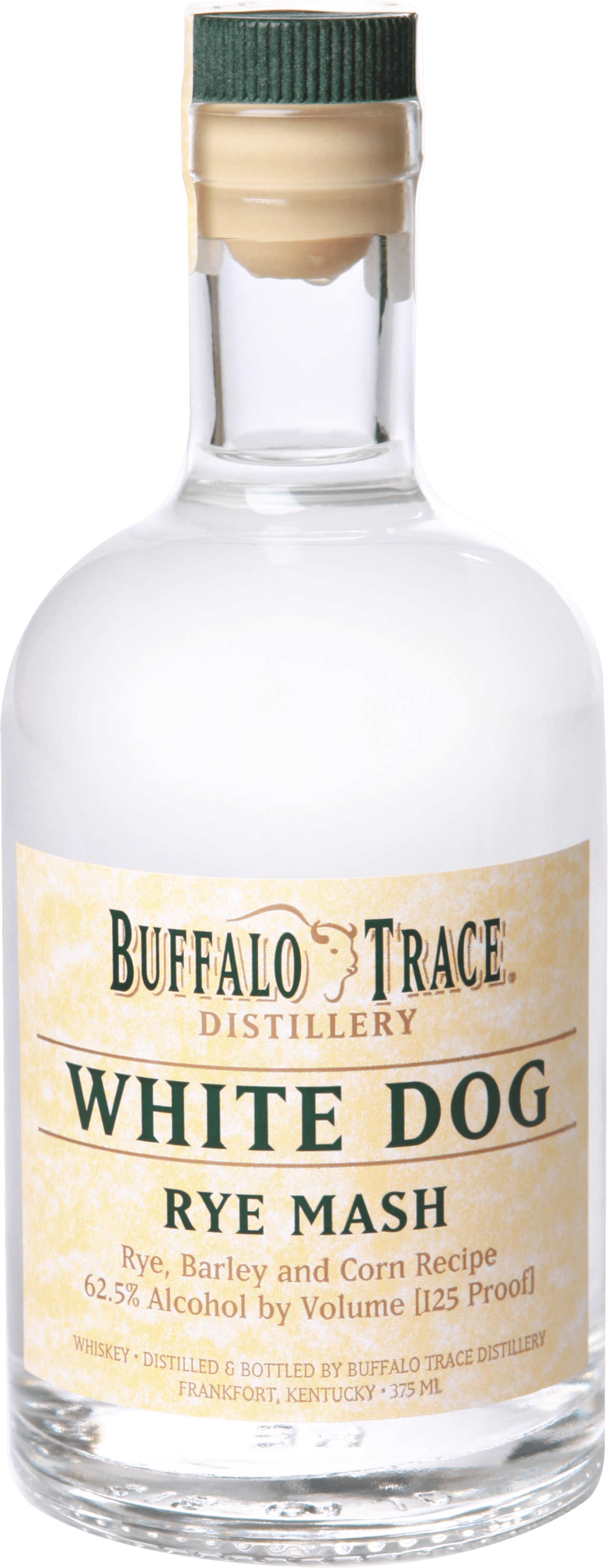 A 1 liter bottle of Buffalo Trace Kentucky Straight Bourbon Whiskey
