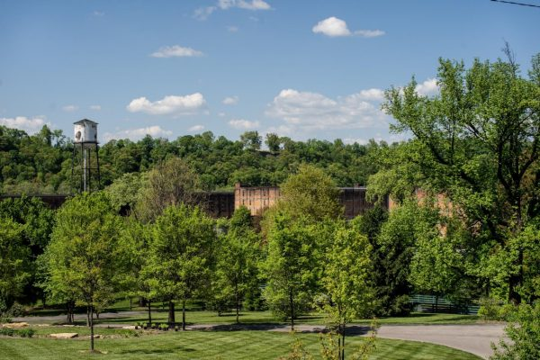 Download Buffalo Trace Distillery in spring