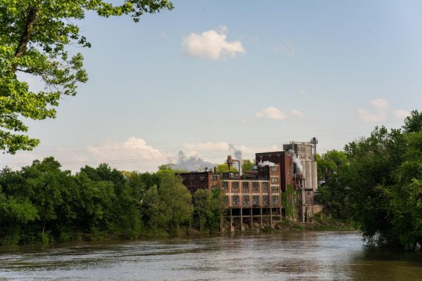 Download Buffalo Trace Distillery view from river