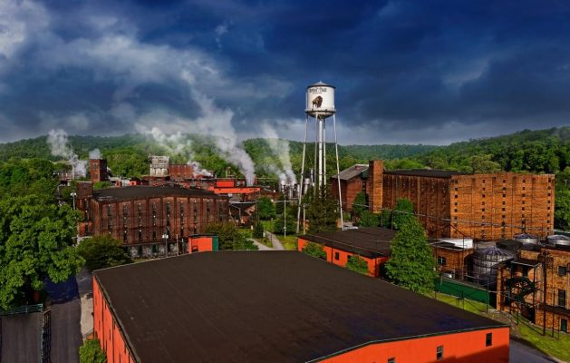 Download Buffalo Trace Distillery Aerial View