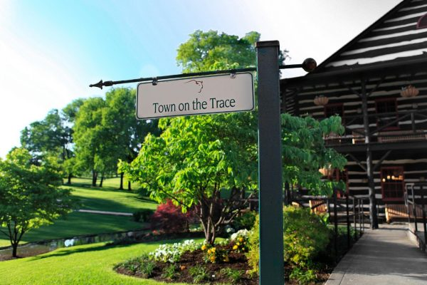 Download Town on the Trace Sign