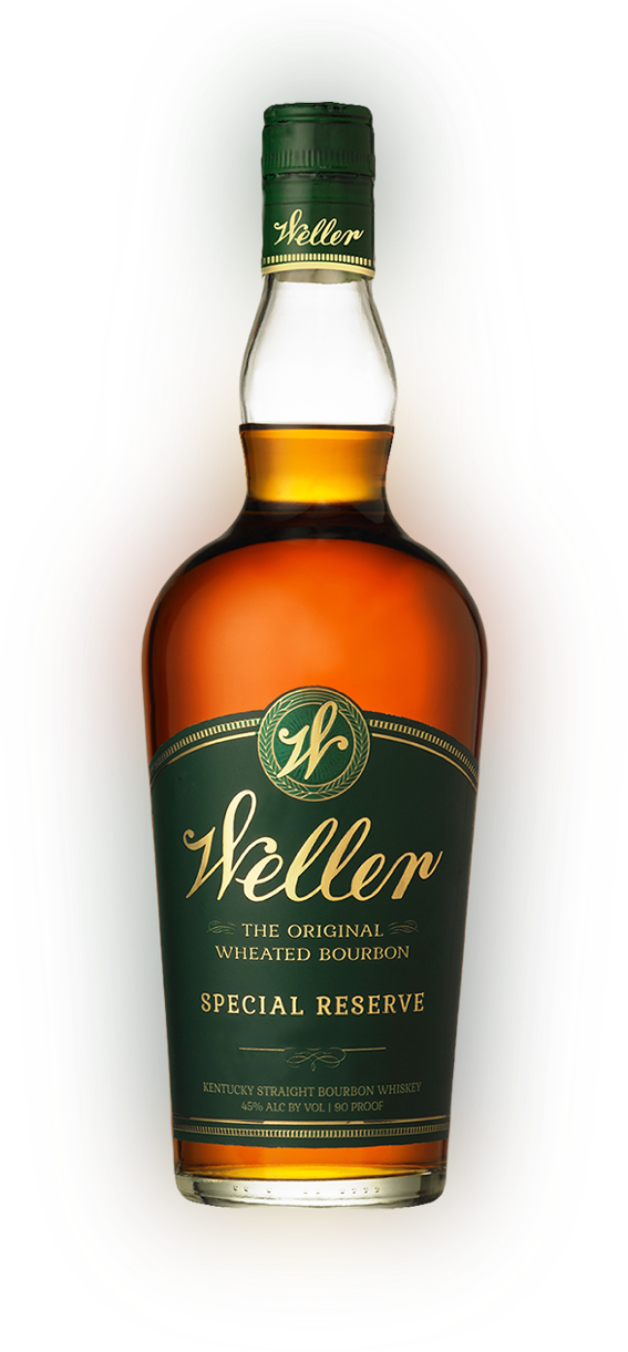 A 1 liter bottle of Weller Special Reserve Bourbon